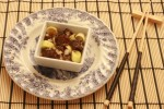 Ensalada japonesa de atun crudo