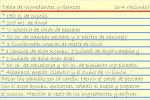 Receta de Ensalada de cuscus